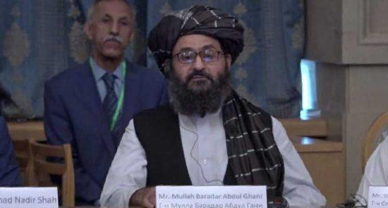 ملا برادر 550x295 - پیام هشدار آمیز معاون سیاسی دفتر طالبان در قطر برای نیروهای خارجی