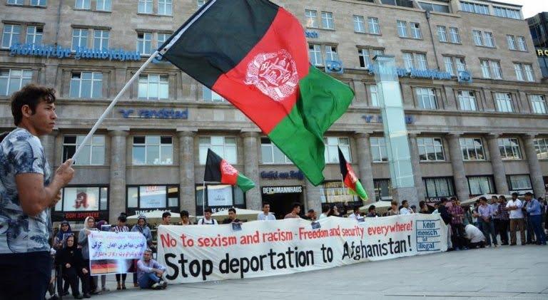 مهاجر 1 - افغان ها بزرگترین جمعیت پناهجو در اروپا