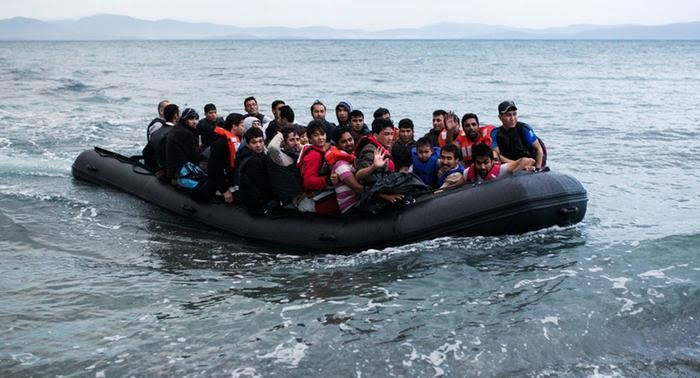 مهاجر - ورود هزاران مهاجر از ترکیه به یونان