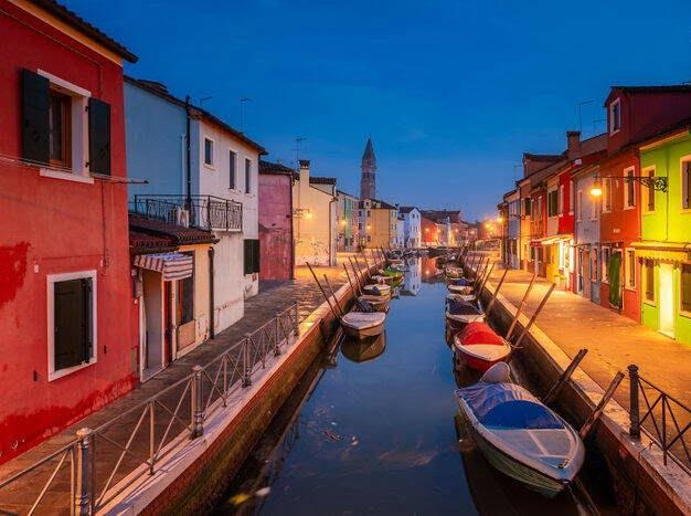 ونیز ایتالیا 11 - تصاویر/ جزیرهای زیبا در شمال ایتالیا