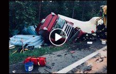 ویدیو راننده ای تصادف موتر 226x145 - ویدیو/ راننده ای که باعث تصادف سه موتر شد