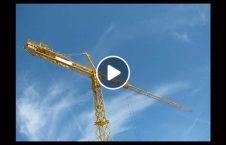ویدیو سقوط جرثقیل خانه هند 226x145 - ویدیو/ سقوط جرثقیل بر روی خانه ها در هند