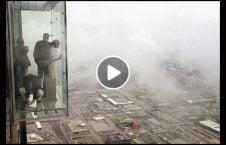 ویدیو گردشگر سقوط برج 226x145 - ویدیو/ گردشگران درحال سقوط از برج