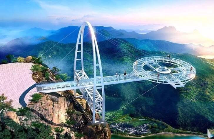 پل شیشه ای1 - تصاویر/ پل جذاب و دیدنی در پکن