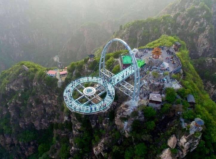 پل شیشه ای2 - تصاویر/ پل جذاب و دیدنی در پکن