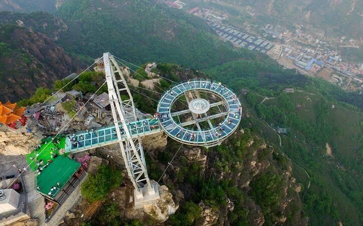پل شیشه ای7 - تصاویر/ پل جذاب و دیدنی در پکن