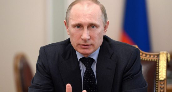 پوتین 1 550x295 - هشدار پوتین درباره انتقال تروریستها به افغانستان