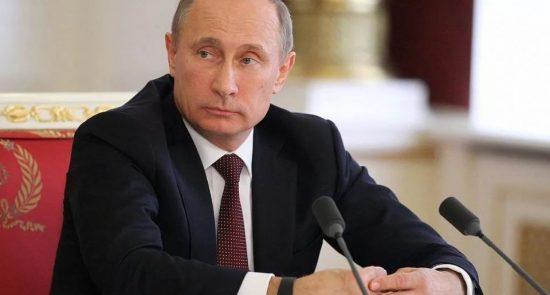 پوتین 550x295 - دیدگاه رییس جمهور روسیه درباره ادامه حضور نظامیان امریکایی در افغانستان