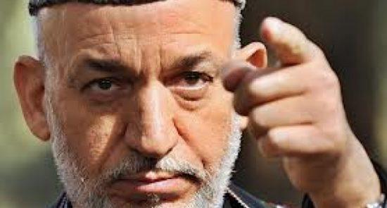 کرزی 550x295 - کرزی به دنبال مشروعیت بخشی سیاسی به طالبان!