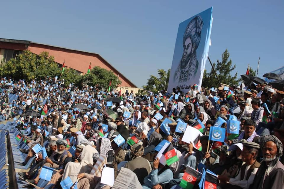 گردهمایی صلح و اعتدال 1 - تصاویر/ گردهمایی بزرگ تیم انتخاباتی صلح و اعتدال در کابل