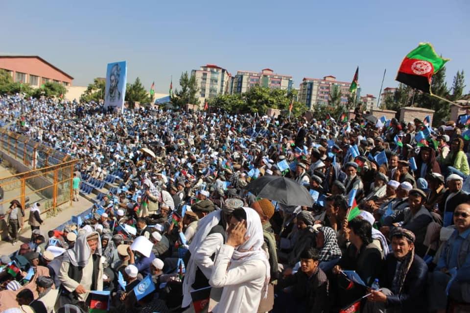 گردهمایی صلح و اعتدال 10 - تصاویر/ گردهمایی بزرگ تیم انتخاباتی صلح و اعتدال در کابل