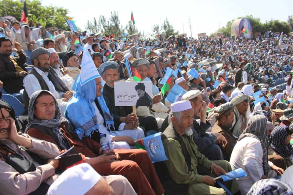 گردهمایی صلح و اعتدال 11 - تصاویر/ گردهمایی بزرگ تیم انتخاباتی صلح و اعتدال در کابل