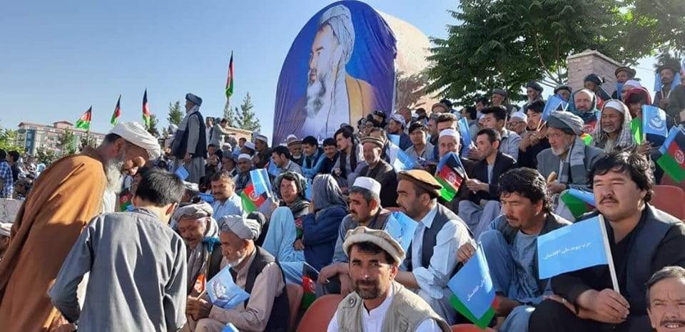 گردهمایی صلح و اعتدال 2 - تصاویر/ گردهمایی بزرگ تیم انتخاباتی صلح و اعتدال در کابل
