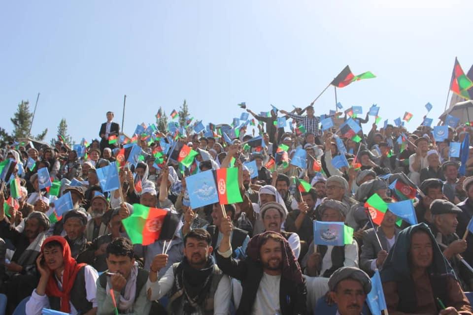 گردهمایی صلح و اعتدال 4 - تصاویر/ گردهمایی بزرگ تیم انتخاباتی صلح و اعتدال در کابل