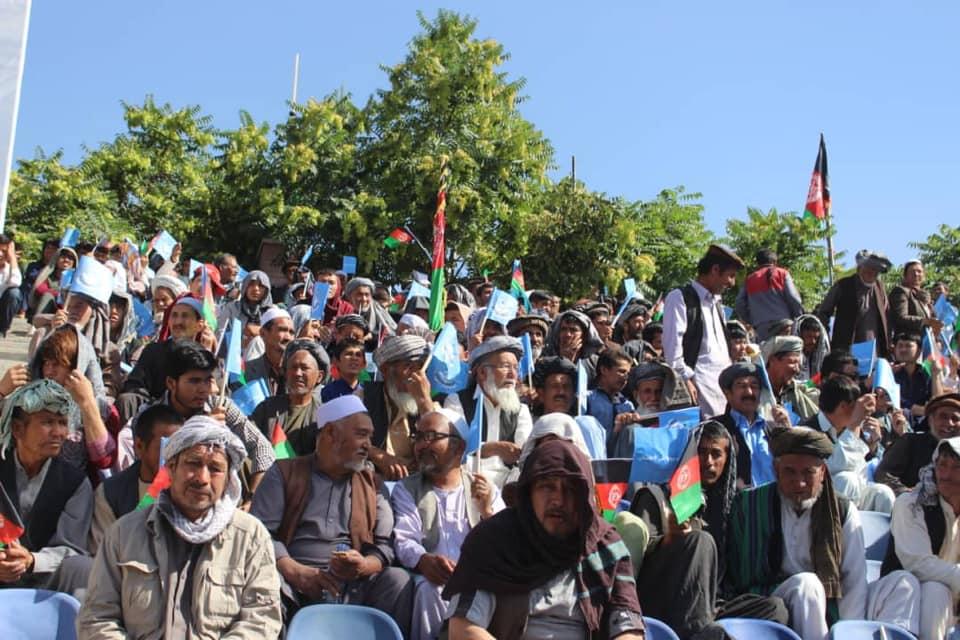 گردهمایی صلح و اعتدال 6 - تصاویر/ گردهمایی بزرگ تیم انتخاباتی صلح و اعتدال در کابل