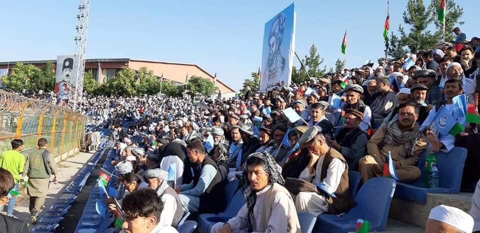 گردهمایی صلح و اعتدال 7 - تصاویر/ گردهمایی بزرگ تیم انتخاباتی صلح و اعتدال در کابل