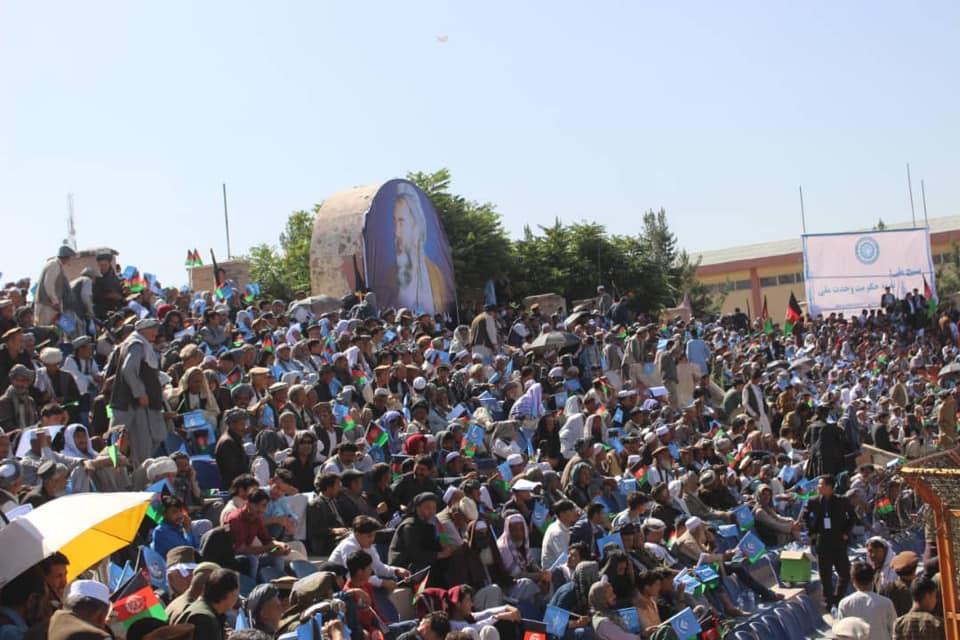 گردهمایی صلح و اعتدال 8 - تصاویر/ گردهمایی بزرگ تیم انتخاباتی صلح و اعتدال در کابل
