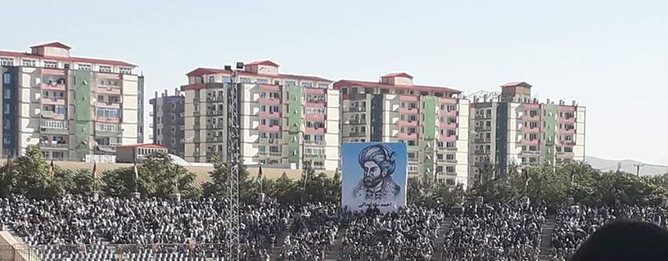گردهمایی صلح و اعتدال 9 - تصاویر/ گردهمایی بزرگ تیم انتخاباتی صلح و اعتدال در کابل