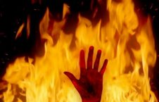 آتش 226x145 - آتش سوزی در اردوگاه پناهجویان در یونان