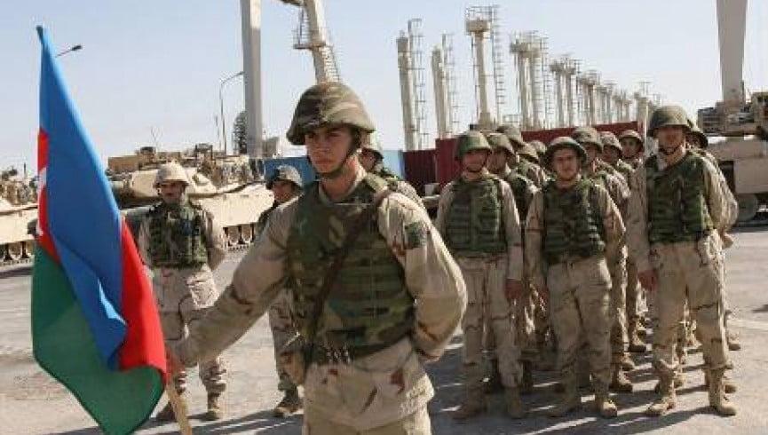 آذربایجان عسکر - اعزام شماری از عساکر آذربایجان به افغانستان