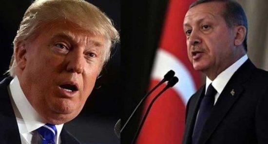 اردوغان ترمپ 550x295 - ترمپ اردوغان را تهدید کرد