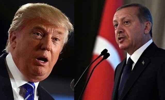اردوغان ترمپ - ترمپ اردوغان را تهدید کرد