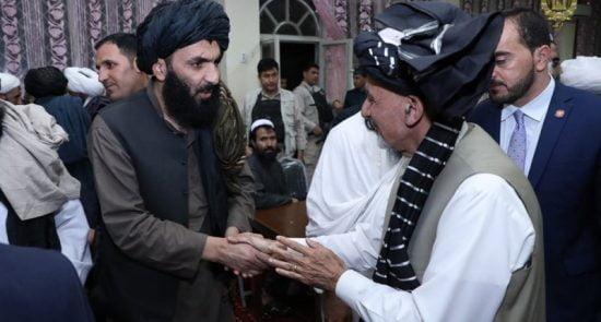 اشرف غنی طالبان 550x295 - هدیه بزرگ رییس جمهور غنی به طالبان