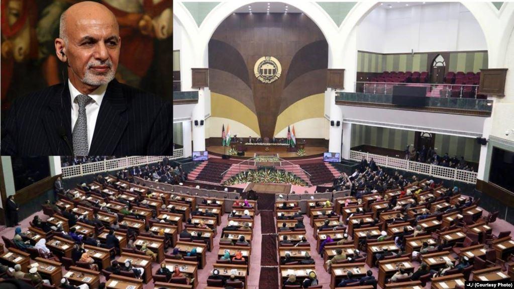 اشرف غنی ولسی جرگه - گزارش ولسی جرگه در پیوند به قانون شکنی های رییس جمهور غنی