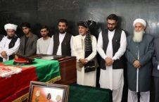 اشرف غنی 3 226x145 - ادای احترام رییس جمهور غنی به پیکر شهید برید جنرال حاجی عبدالغفار احمدزی