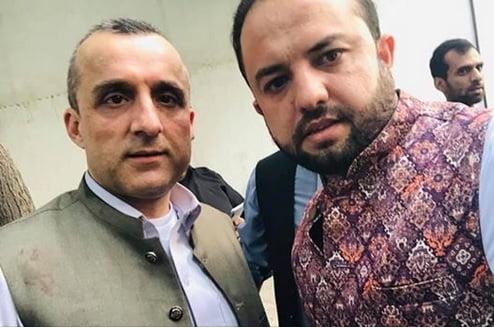 امرالله صالح - تصاویر/ امرالله صالح پس از زخم برداشتن در انفجار کابل