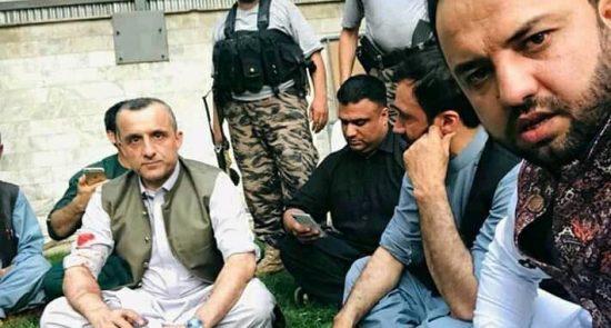 امرالله صالح2 550x295 - صحنه سازی حکومت در حمله به دفتر روند سبز