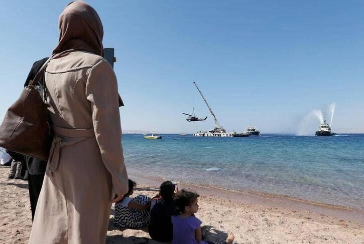 بحر سرخ 10 - تصاویر/ اقدام عجیب اردن برای جذب گردشگران