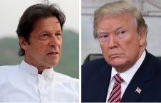 ترمپ عمران خان 226x145 - صدر اعظم پاکستان خواستار آغاز گفتگوهای صلح میان حکومت افغانستان و طالبان شد