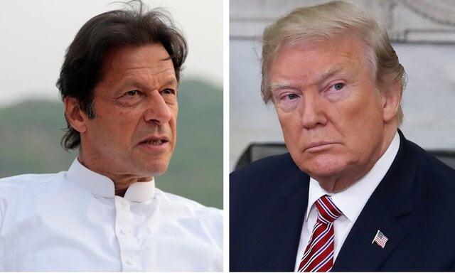 ترمپ عمران خان - گفتگوی عمران خان با ترمپ پیرامون افغانستان