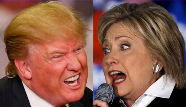 ترمپ کلینتون - انتقاد هیلاری کلینتون از حکومت داری دونالد ترمپ