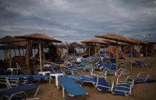 توفان یونان4 226x145 - تصاویر/ 100 کشته و زخمی در نتیجه وقوع توفان در یونان