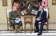 جنرال فرانک مکنزی 226x145 - تاکید جنرال فرانک مکنزی بر حمایت ایالات متحده از افغانستان