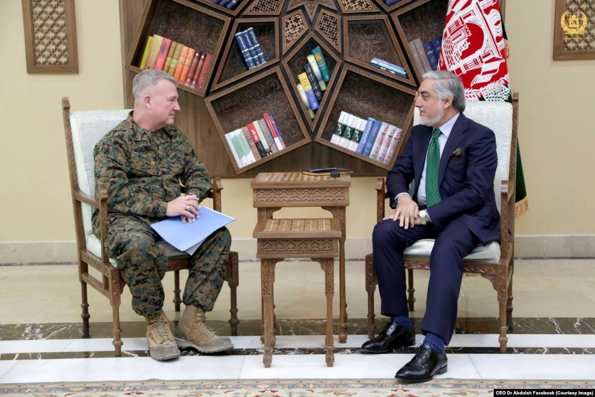 جنرال فرانک مکنزی - تاکید جنرال فرانک مکنزی بر حمایت ایالات متحده از افغانستان