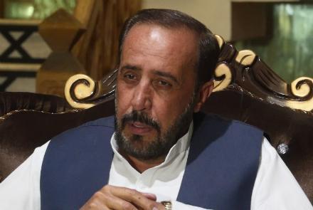 حبیبالله احمدزی - احمدزی: از مواضع خود عقب نشینی نخواهم کرد