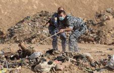 داعش جسد1 226x145 - اجساد هزاران داعشی حیات باشنده گان موصل را تهدید می کند