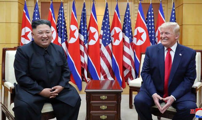 دونالد ترمپ کیم جونگ اون 7 - تصاویر/ دیدار رییسجمهوری امریکا با رهبر کوریای شمالی