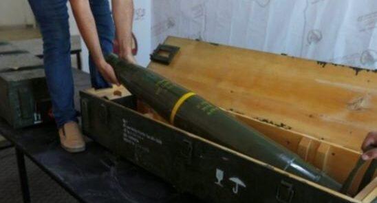 راکت 548x295 - کشف راکت های فرانسوی در نزدیکی طرابلس