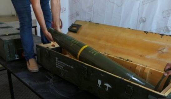 راکت - کشف راکت های فرانسوی در نزدیکی طرابلس