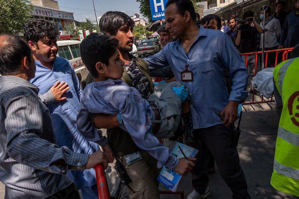 زخمی طفل درس - گزارش تکان دهنده سازمان ملل از افزایش خشونت در برابر اطفال در افغانستان
