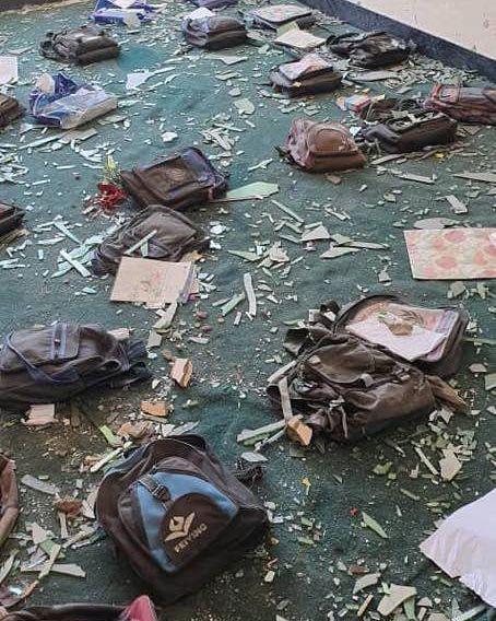 غزنی انفجار3 - تصاویر/ متعلمین در غزنی به دلیل ترس از انفجار به مکتب نمی روند