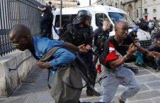 فرانسه3 226x145 - تصاویر/ لت و کوب مهاجرین توسط پولیس فرانسه