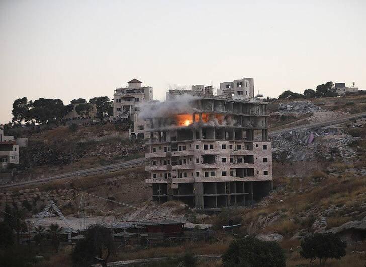 فلسطین1 - تصویری از جنایات اسراییل در فلسطین