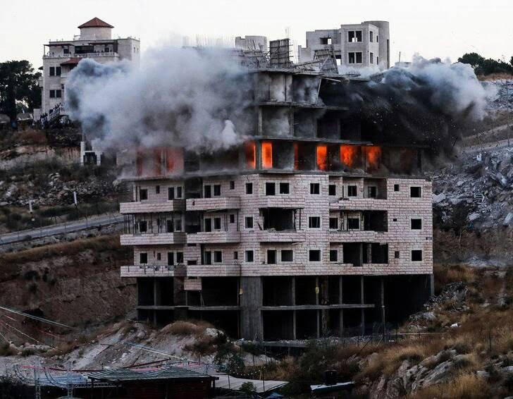 فلسطین2 - تصویری از جنایات اسراییل در فلسطین