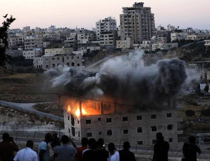فلسطین3 - تصویری از جنایات اسراییل در فلسطین