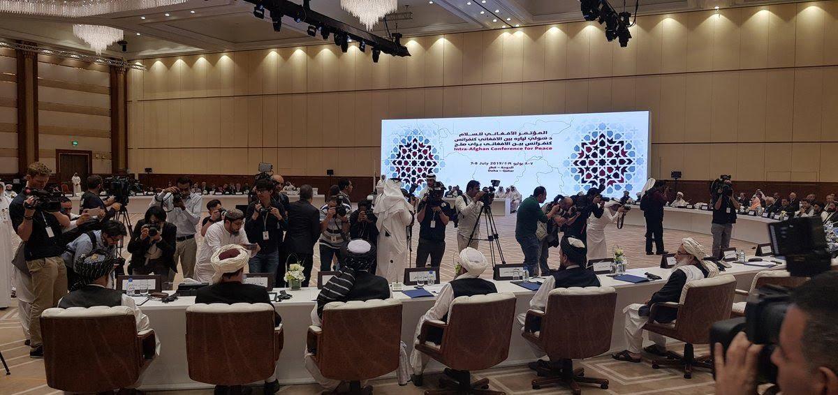 قطر نشست بین الافغانی - نشست بینالافغانی صلح در قطر پایان یافت + متن کامل قطعنامه